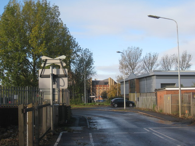 View from Dawes Lane level crossing