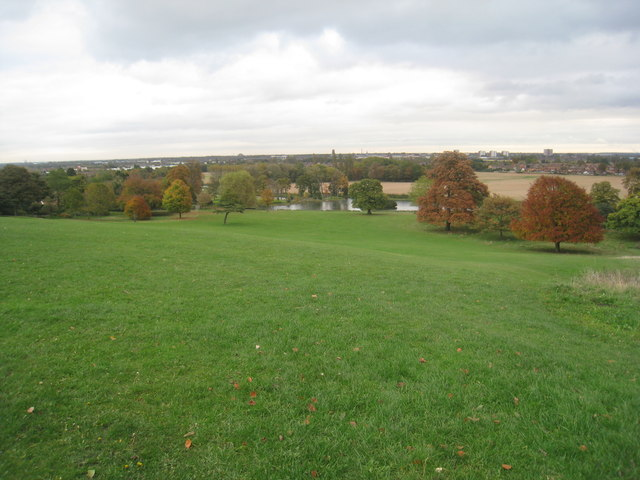 Autumn view from Cusworth Hall