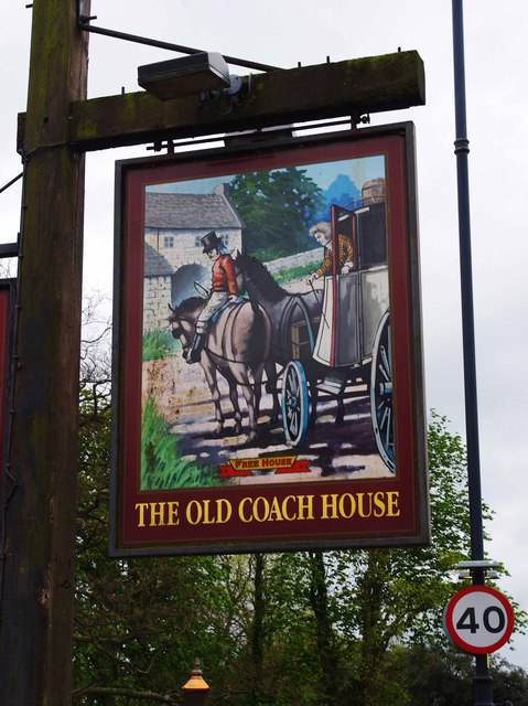 The Old Coach House (2) - sign, Bridge Foot, Market Deeping
