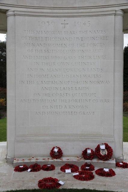 Dedication on the Memorial