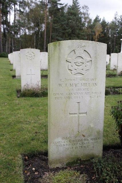 Sergeant W.J. MacMillan