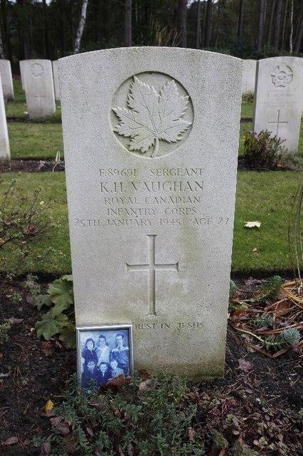 Sergeant K.H.Vaughan