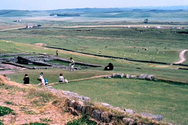 Housesteads Roman Fort - 1975