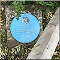 Photo of Jethro Tinker blue plaque