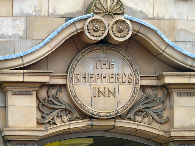 The Shepherds Inn: Doorway detail
