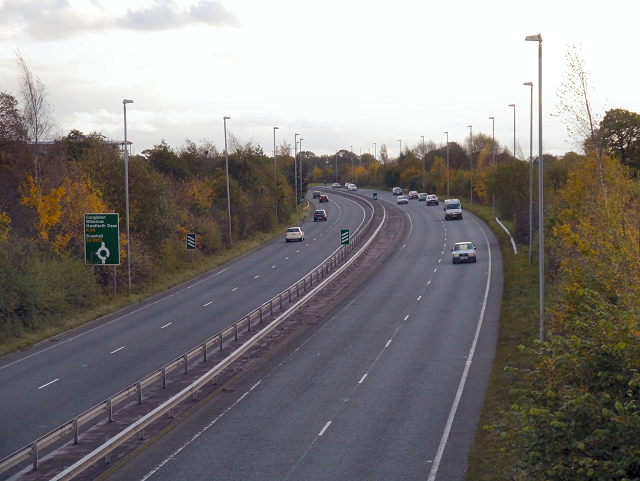 A34 Wilmslow-Handforth Bypass