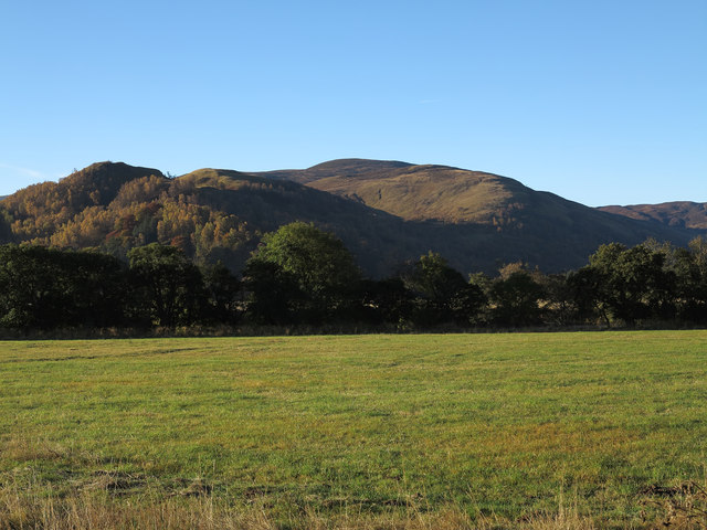 Field on north side of River Tummel