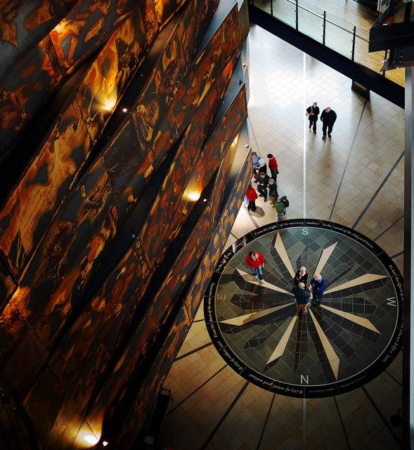 Compass, Titanic Belfast
