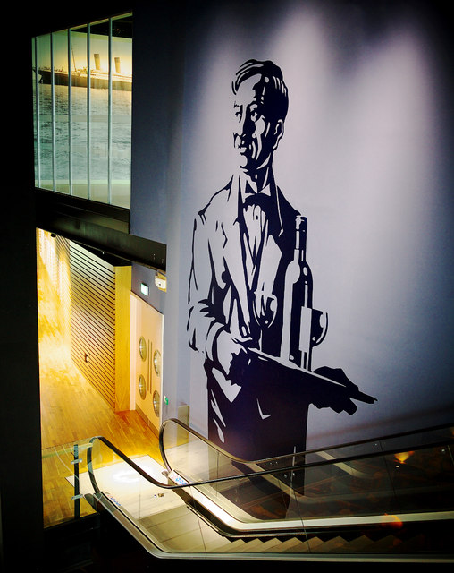 Escalator, Titanic Belfast
