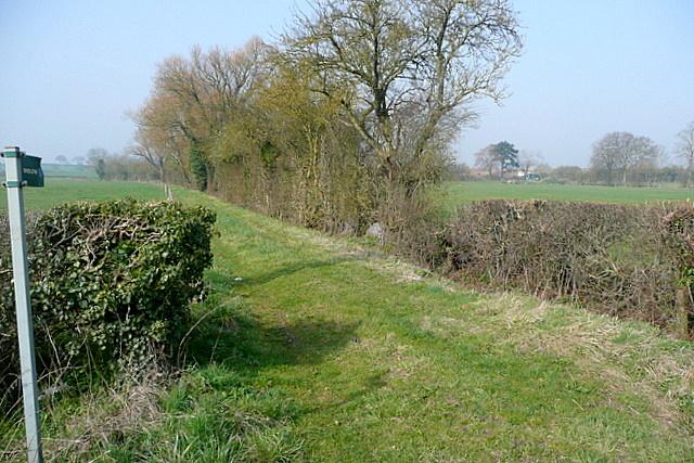 Bridleway near Eynsham Mill