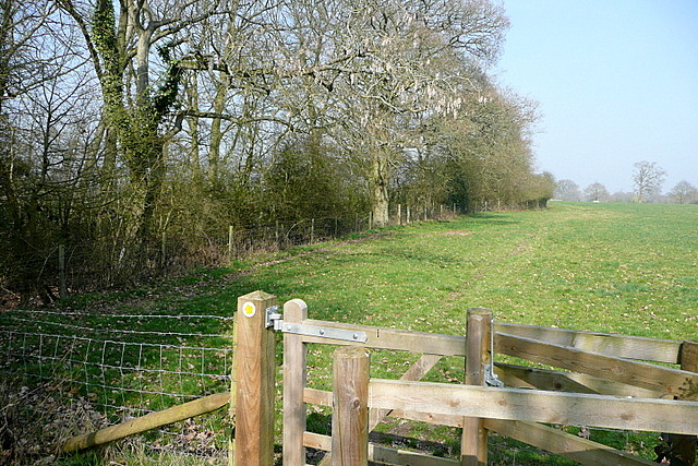 Footpath towards The Green