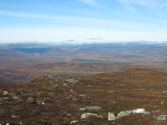 North ridge of Meall na Mòine