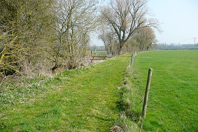 Bridleway towards Eynsham Mill