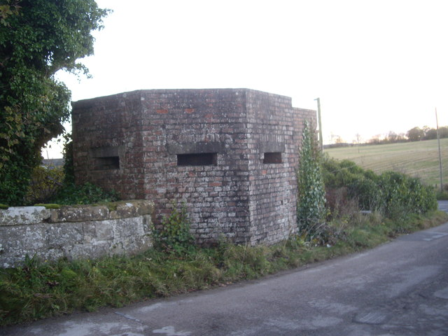 WW2 pillbox structure