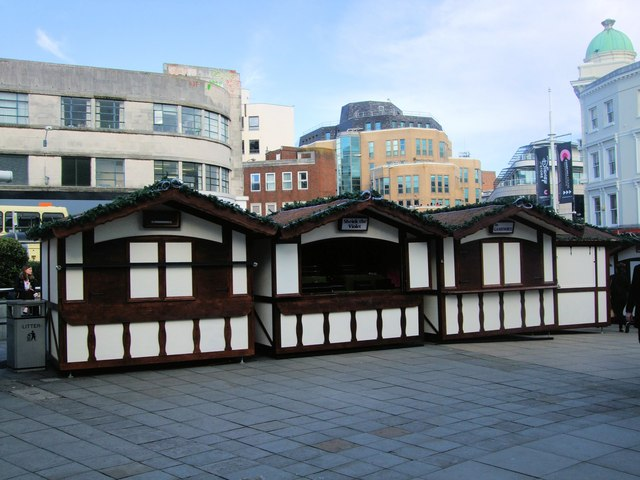 Cabins, Churchill Square, Brighton