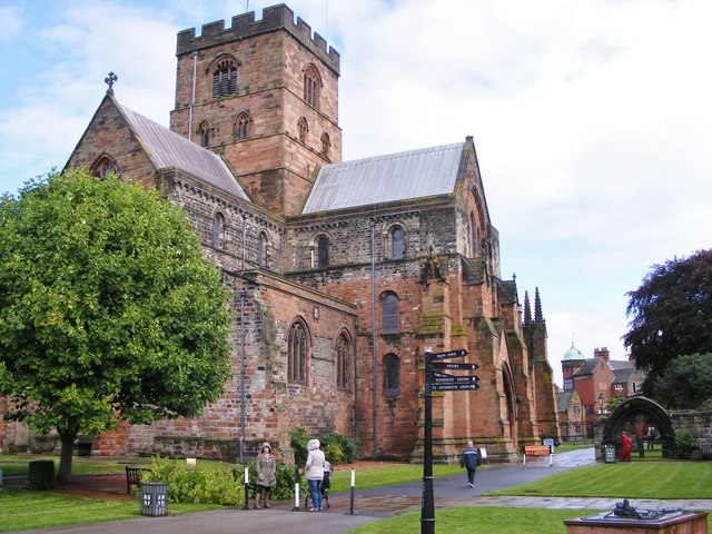 Carlisle Cathedral View