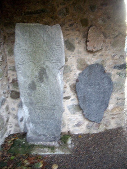 Pictish stones in Chapel of St Fergus, Dyce