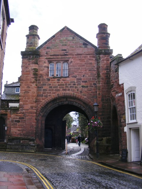 Carlisle Cathedral Gatehouse