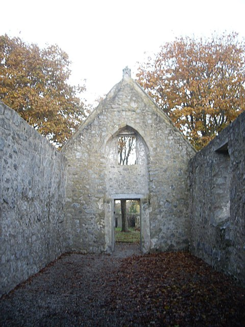 Inside the ruined Chapel of St Fergus, Dyce