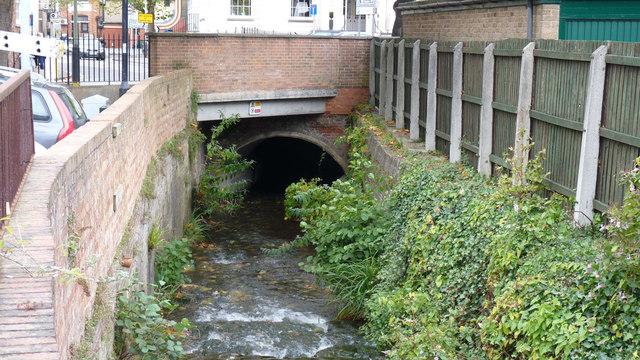 River Chelt, Cheltenham.