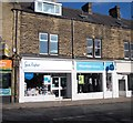 SE1941 : Sue Ryder Charity Shop - Wheatfields Hospice - Otley Road by Betty Longbottom