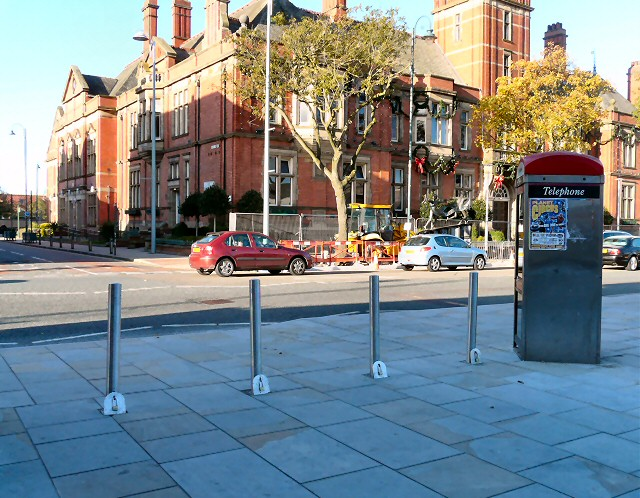 Retractable bollards