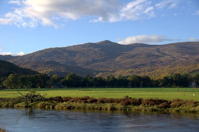 View towards Beinn a' Bhathaich Ard from Struy