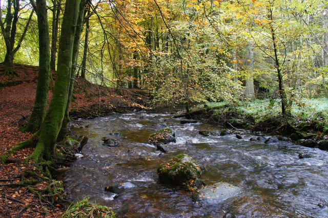 Alyth Burn in Den o' Alyth