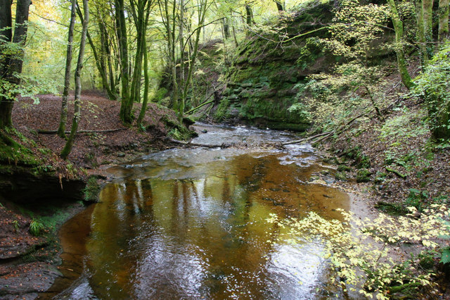 Burn of Alyth in Den o' Alyth