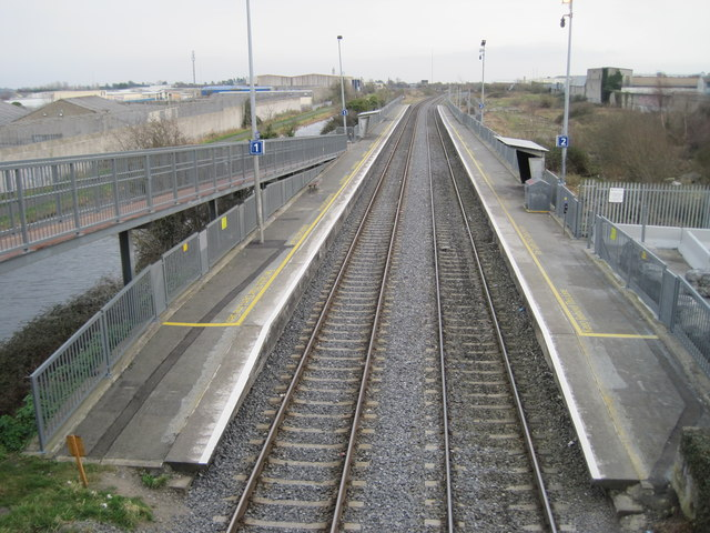 Broombridge railway st...1990 Google