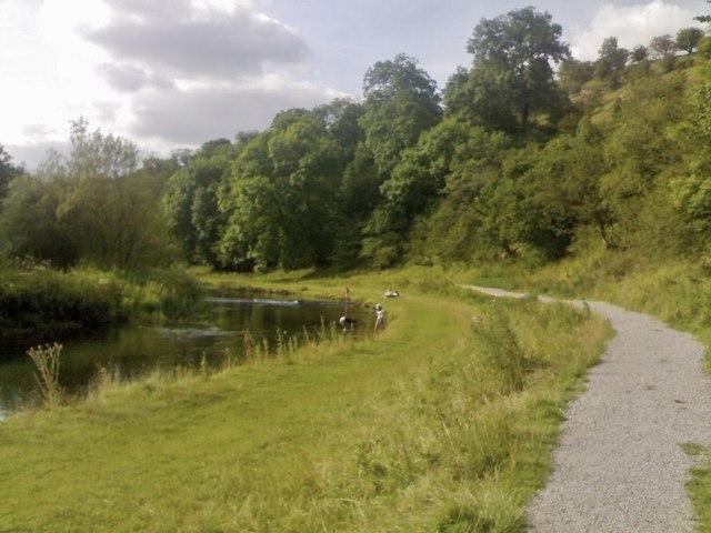 River Lathkill above Conksbury Bridge