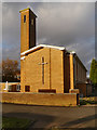 SJ8286 : Wythenshawe, St Andrew's Methodist Church by David Dixon