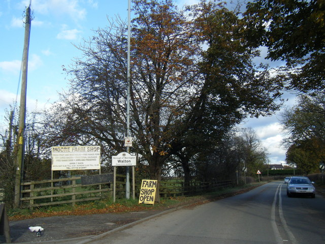 Runcorn Road at Walton boundary