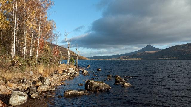 Loch Rannoch north shore
