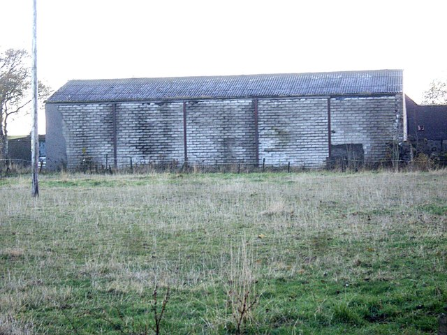 Enclosed barn at Milton of Garlogie