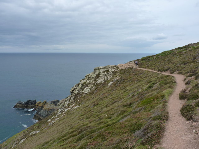 The SW Coast Path along St Agnes Head