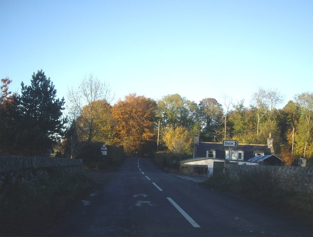 Dyce junction from B979