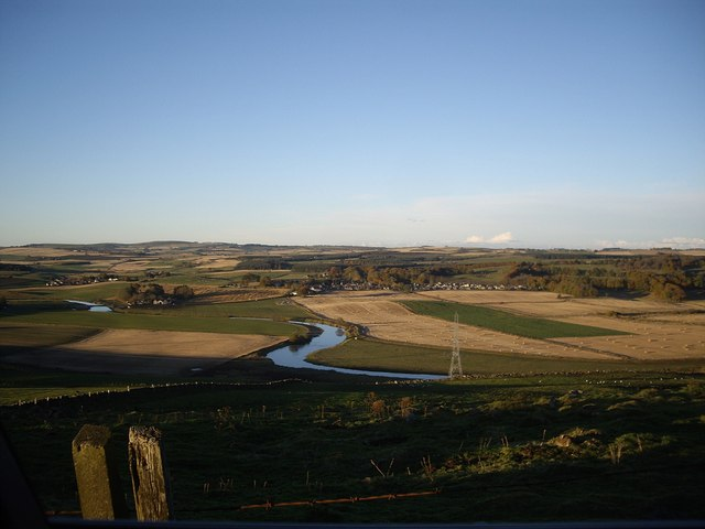 View north to the River Don