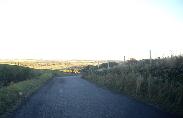 Downhill towards Dyce