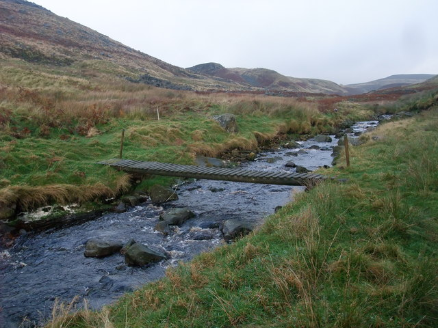 Footbridge over Gate Up Gill