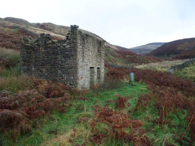 Building at Prosperous Level Lead Mine