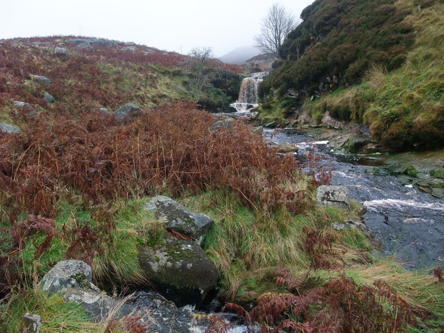 Small waterfall on Gate Up Gill