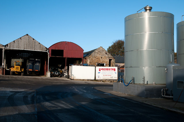 Premises of Lanchester Dairies