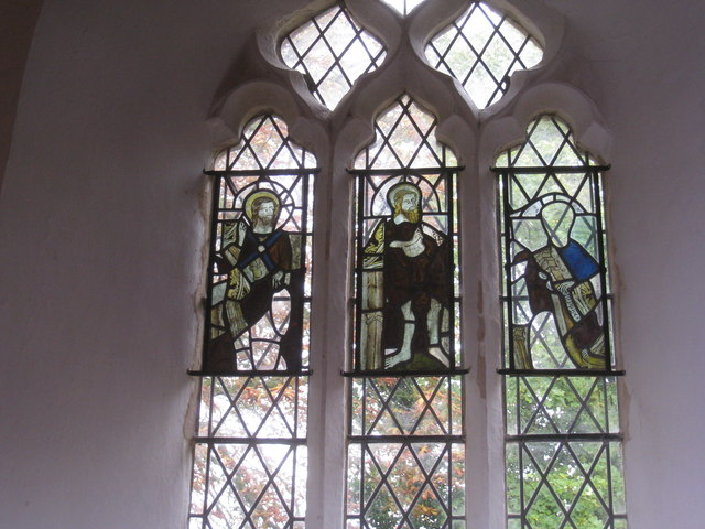 Medieval glass, St. Helen's, North Thoresby