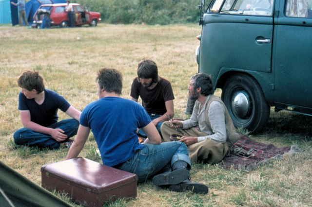 Edinburgh, Little France Campsite - 1975