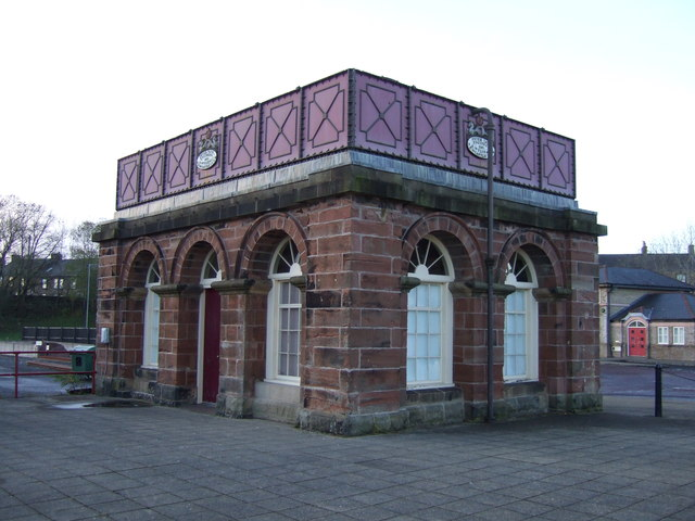 Old Water Tank Building, Haltwhistle Station