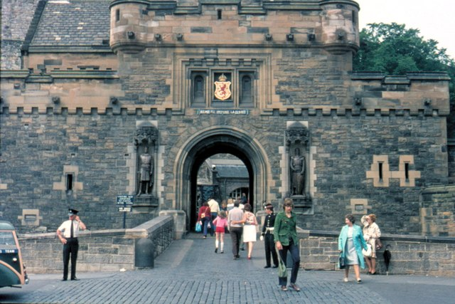 Edinburgh Castle - 1975