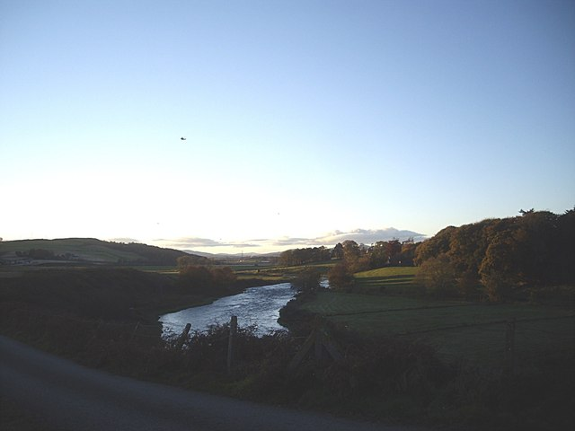 A reach of the River Don above Cothall