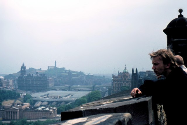 Edinburgh Castle Ramparts - 1975