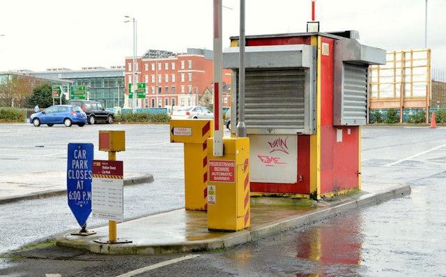 Car park hut, Belfast